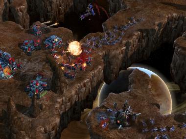 Primeras imágenes de Starcraft 2