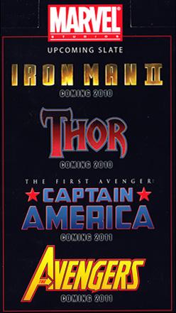 Próximas películas de Marvel