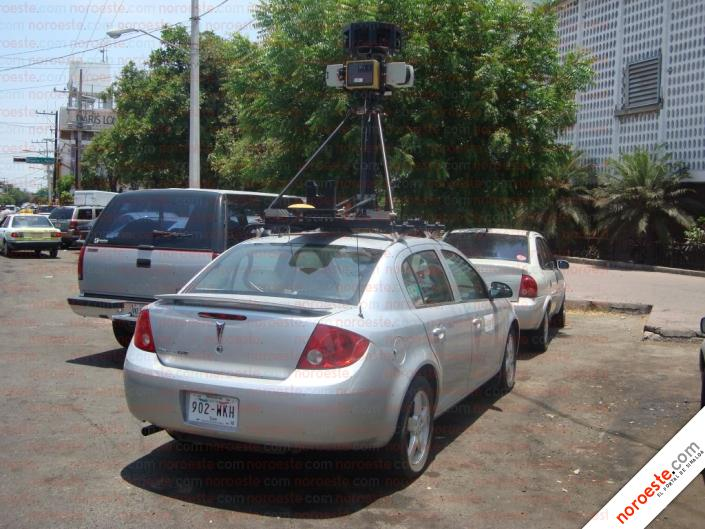 Google Street View en Culiacán