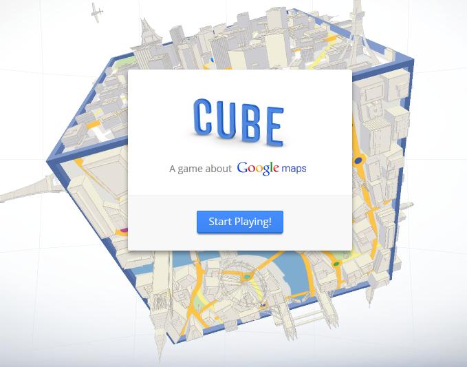Cube: Juego desarrollado por Google